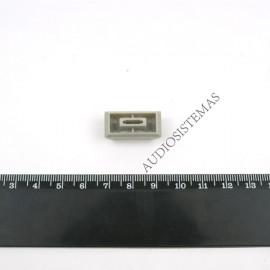 Boton potenciometro fader gris claro (10200-01657)