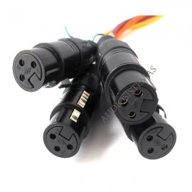 Adaptador DMX para cable UPT Cat5