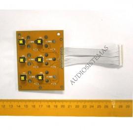 Placa pulsadores MUTE X32 Ver.1 (AAQ14-00104)
