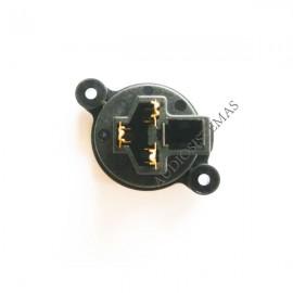 Conector XLR 3 polos macho (03303)