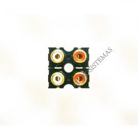 Conector RCA Behringer hembra 4P (03286)