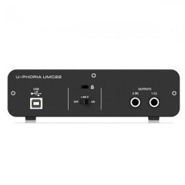 Interfaz de Audio USB UMC22 Segunda Mano