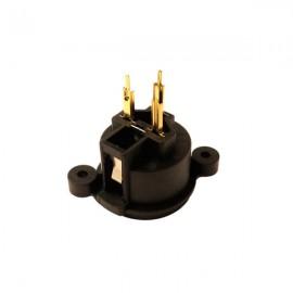 Conector XLR 3 polos hembra c.i. (03300)