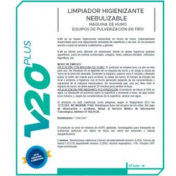 Limpiador Higienizante V20 plus