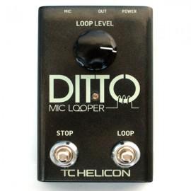 TC Helicon Ditto Mic Looper Pedal de Efectos (2º MANO)